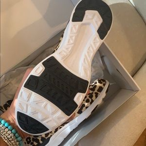 APL Shoes - APL ICONIC LEOPARD CHELSEA SNEAKERS BOOTS